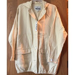 NWT Woolrich xs/s smock jacket